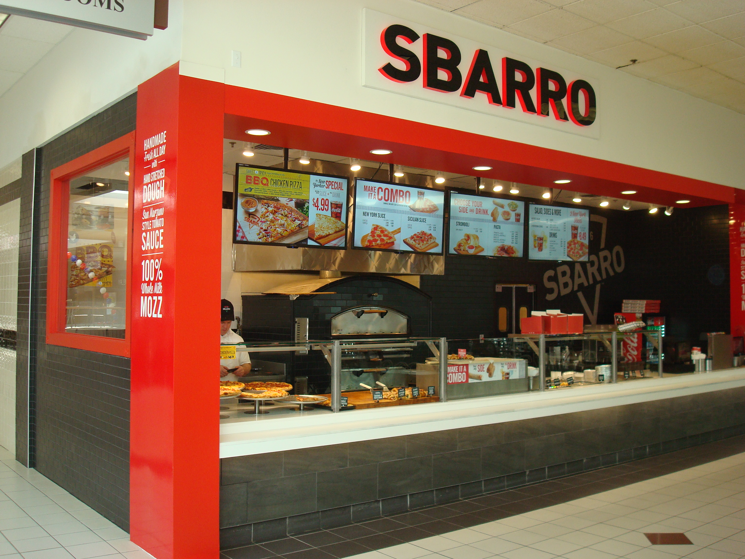 Sbarro – Washington Crown Mall, PA
