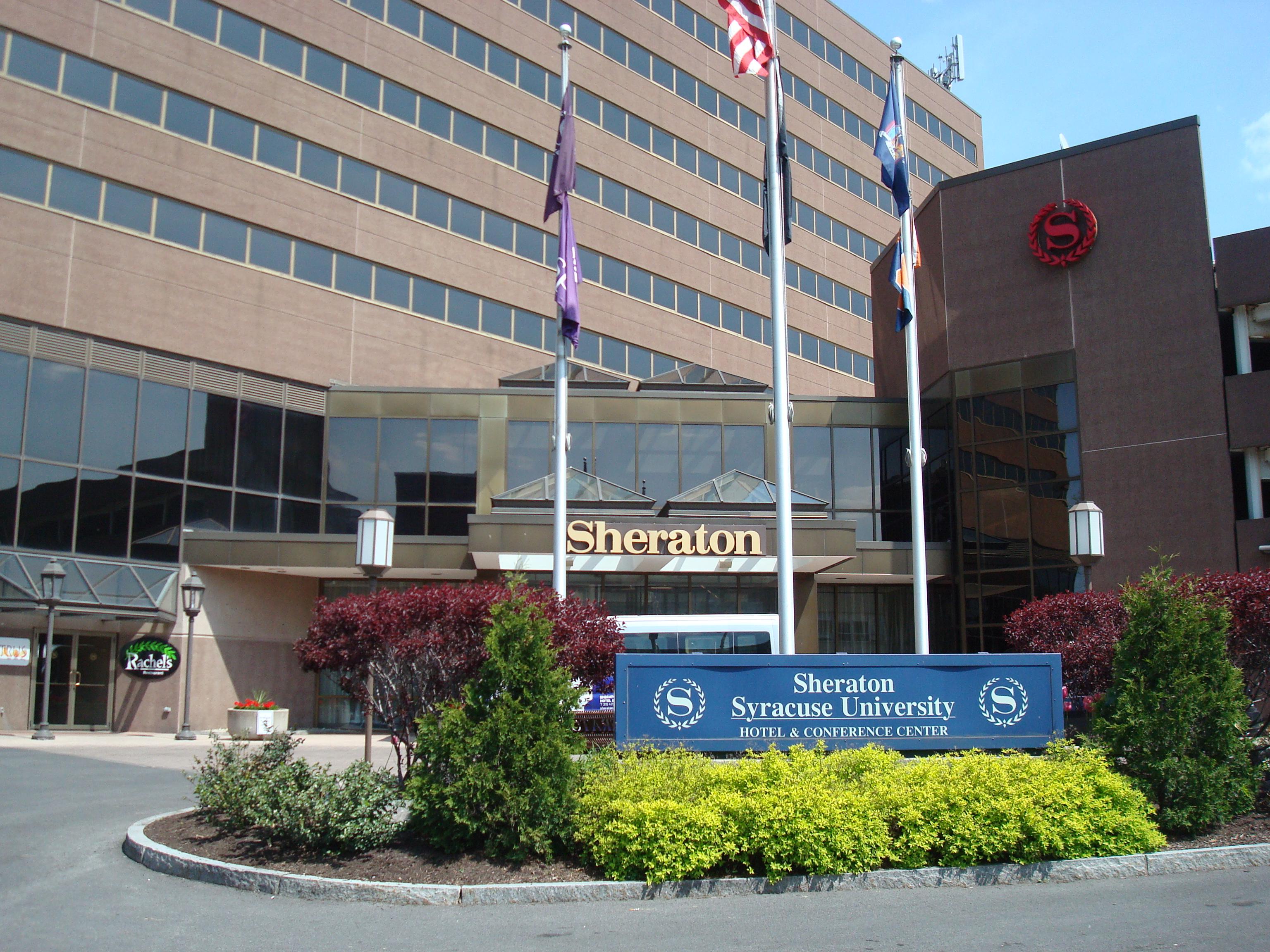 Sheraton Hotel & Conference Center at Syracuse University, NY